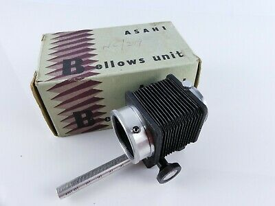 Genuine Original Asahi Pentax Bellows Unit With Cable Release Boxed  N28