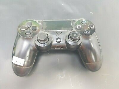 B2056 BLACK PS4 CONTROLLER tested working please read description spares or  reap