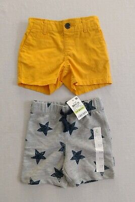 Baby Boy's 3-6 months shorts Gap & First Impressions Lot of 2