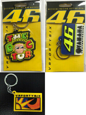 Valentino Rossi Keyring The Doctor Key Ring NEW  - UK Seller Moto GP 46 VR46