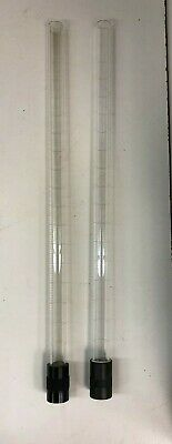 Fisher 13-423-20 Tube & Connector Chemistry Lab Glassware 2 pcs