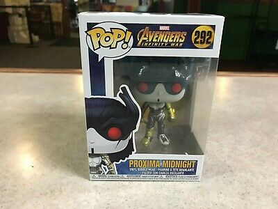 Funko POP! NIB Marvel Avengers Infinity War PROXIMA MIDNIGHT #292
