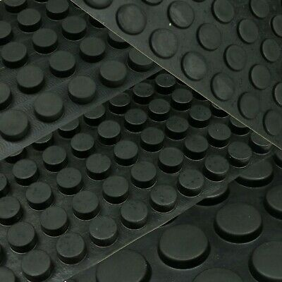 "8mm Height. 16mm Rubber Feet Round /""Mushroom/"" Dome  with 3M Adhesive Backing"