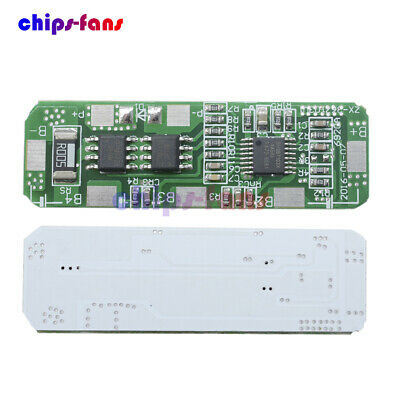 4S 4A-5A PCB BMS Protection Board for 4 Packs 18650 Li-ion lithium Battery Cell