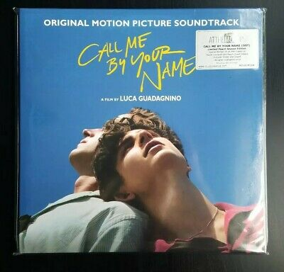 Call Me By Your Name CMBYN Peach Season Colored Vinyl 2 LP Sufjan Stevens