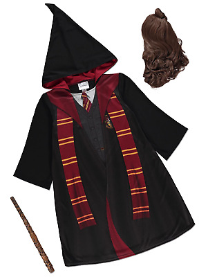 BRAND NEW AND UNWORN (Harry Potter Hermione Granger & Wig   ) BRILLIANT COSTUME