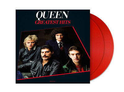 Queen Greatest Hits Limited Edition Red 2LP Vinyl Set HMV Exclusive