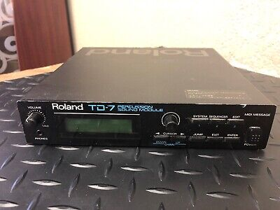 Roland TD-7 Percussion Sound Module Electronic