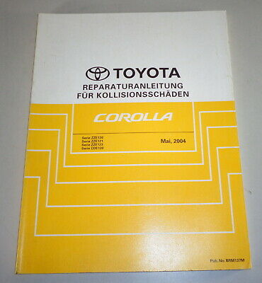 Workshop Manual Toyota Corolla E12 Body by 05/2004