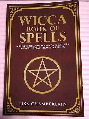 WICCA BOOK OF Spells Book of Shadows for Wiccans Witches