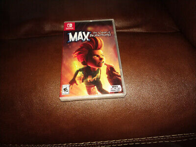 Max The Curse of Brotherhood (Nintendo Switch 2018) Brand New Factory Sealed