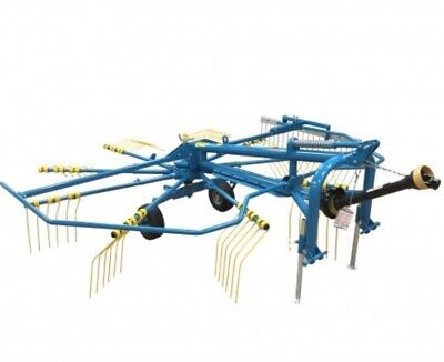 HAY RAKE, 3 Point Hitch, Manufactured by Fordmac USA Large 9