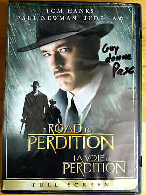 Road to Perdition (DVD, 2003, Full Frame) Tom Hanks Movie Paul Newman jude law