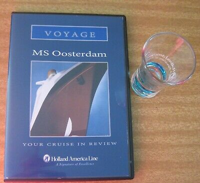 1 X Dvd + Shot Glass - Holland America Line - * Please See Detailed Listing