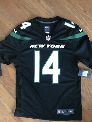 buy online 335fa 0a9a7 NIKE NEW YORK Jets Sam Darnold NFL Jersey - Men's Small ~ $100.00 Black