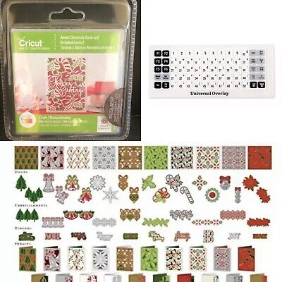 ANNA'S LOVELY LAYERED Cards 2 CRICUT CARTRIDGE New w