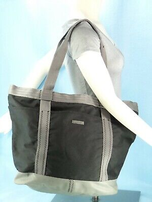 Columbia OMNI-SHIELD XL Shoulder Tote Bag Travel Carry On Black & Gray $60 EXC