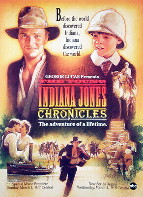 The Adventures Of Young Indiana Jones Chronicles (1992) Complete Series