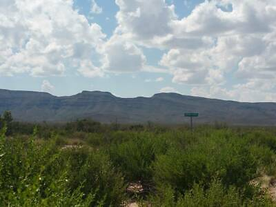 Texas land 100+ Acres-betwn Van Horn&El Paso ELECTRIC-Mountains! VG Road access