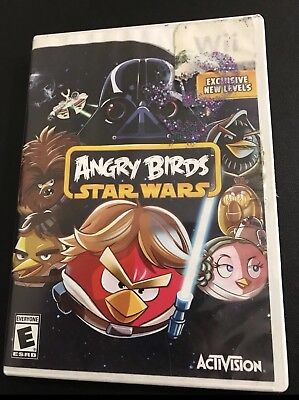 Angry Birds Star Wars Video Game (Nintendo Wii)