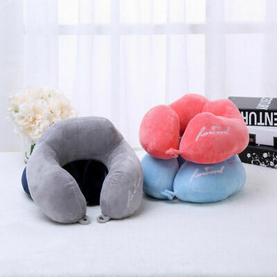 Memory Foam U Shaped Travel Sleep Pillow Neck Support Pillows Airplane Car Trip