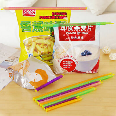 New Kitchen Storage Snack Food Fresher Seal Sealing Bag Clip Sealer Clamp AB