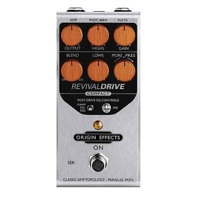 Origin Effects Revival Drive Compact Overdrive Pedal RD-C