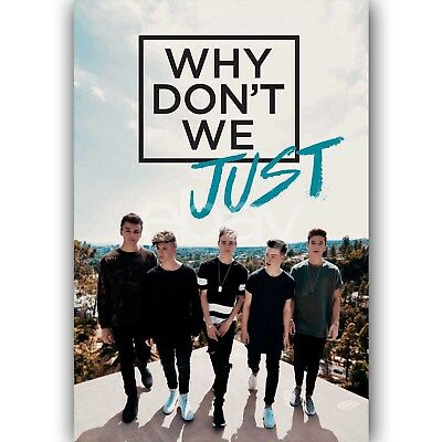 Custom Silk Poster Wall Decor Why Don't We Just