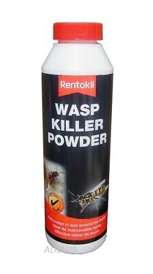 Rentokil Wasp & Nest Killer Powder 300g Ideal For Inaccessible Areas Works Fast