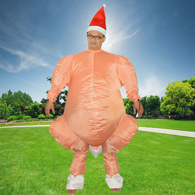 AU Easter Day Cosplay Funny Inflatable Chicken Turkey Party Costume Adult Dress