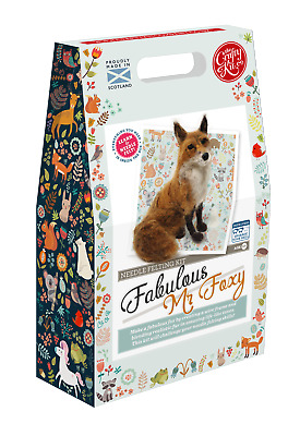 Fabulous Mr Foxy Needle Felting Kit by The Crafty Kit Company