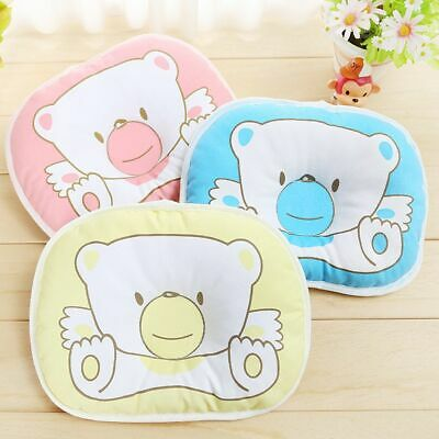 Baby Infant Newborn Prevent Flat Head Neck Syndrome Support Anti Roll Pillow New