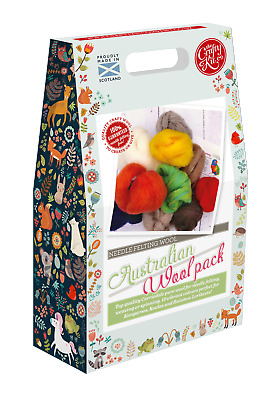 Australian Felting Wool Pack by The Crafty Kit Company