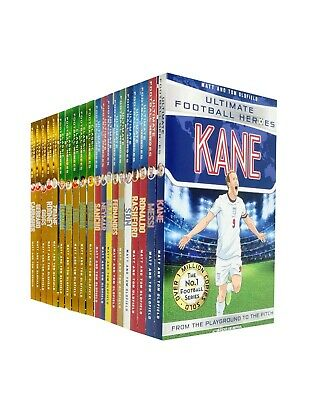 Ultimate Football Heroes Collection 20 Books Set By Tom Oldfield & Matt Oldfield
