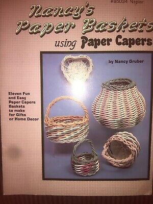 Nancy's Paper Baskets using Paper Capers - #85034 Napier -  SC
