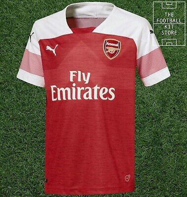 Arsenal Home Shirt - Official Puma Arsenal FC Football Jersey - Boys - All Sizes