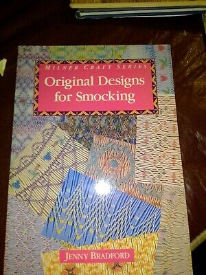 Original Designs for Smocking by Jenny Bradford, paperback, craft, sewing