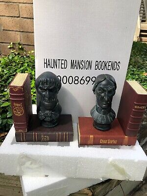 Disney Parks HAUNTED MANSION 45th Anniversary BOOKENDS Set  NEW In Box