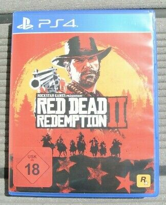 Red Dead Redemption 2 II Sony PlayStation PS4 Rockstar Games
