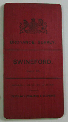 1899 Old OS Ordnance Survey Ireland One-Inch Second Edition Map 65 Swineford