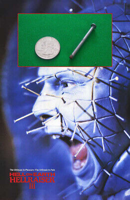 Hellraiser 3 Hell on Earth Screen-Used Pinhead Pin removed from Prosthetic