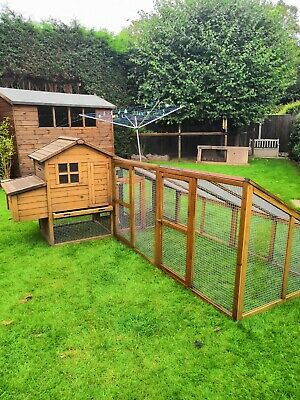Chicken Coop and Run, used. Also comes with  few extras (seen in photos)