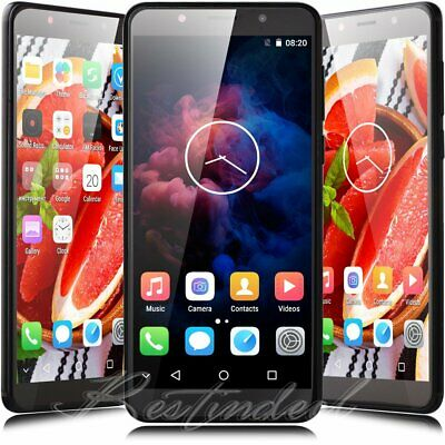 """GSM Smart Phone AT&T 5.5"""" Quad Core Dual Sim Factory Unlocked Android 7.0 Wifi"""
