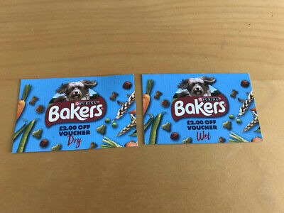 Bakers Dog Food £4 money off coupons vouchers Valid until 31.12.19