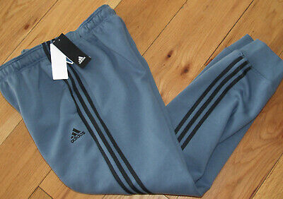 NWT ADIDAS MEN'S 3 Stripe Game Day Pant Raw SteelCarbon