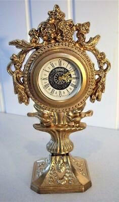 VINTAGE PEDESTAL MANTEL CLOCK - 30hr MOVEMENT