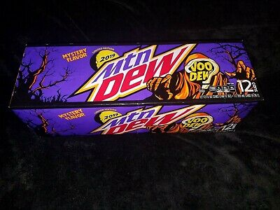 Mountain Dew Voodew 12 Pack Limited Edition