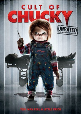 CULT OF CHUCKY (UNRATED)-Cult Of Chucky [Edizione: Stati Uni (UK IMPORT) DVD NEW