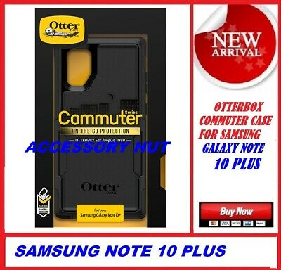 New Otterbox Commuter Case for Samsung Galaxy Note 10 + Plus Black 77-62328