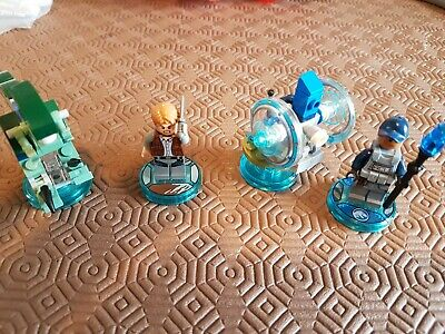 Lego Dimensions Jurassic World Team Pack 71205 100% Complete